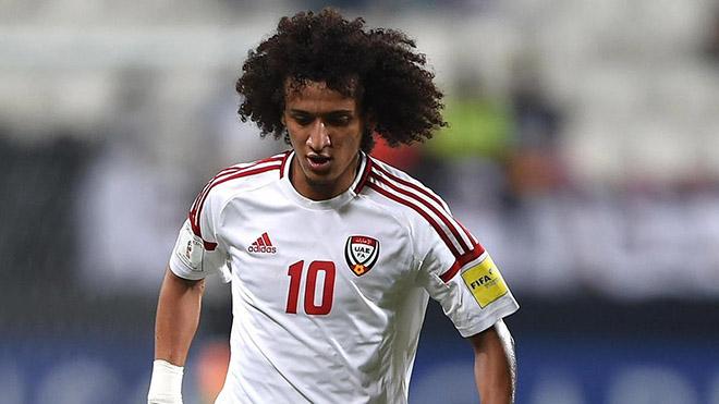 """""""Messi châu Á"""" Omar Abdulrahman là cái tên đáng chú ý nhất của UAE trận tới"""