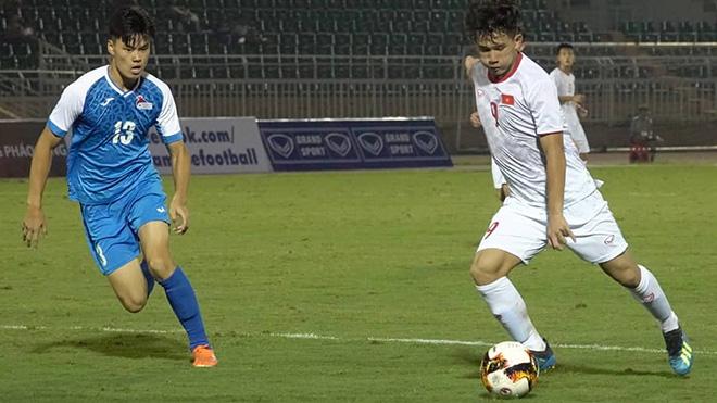 Kim Nhật chính thức lỗi hẹn với các đồng đội ở vòng loại U19 châu Á 2020. Ảnh: Linh Phạm