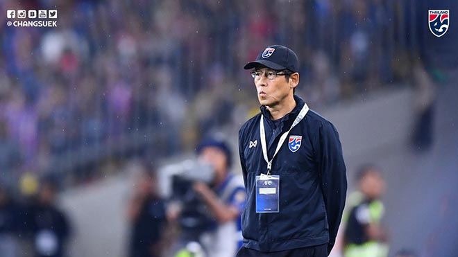 HLV Nishino xác nhận sẽ có những sự thay đổi trong đội hình Thái Lan gặp Việt Nam so với trận đá với Malaysia trước đó
