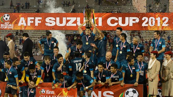 Duric giúp Singapore có thành tích vô địch AFF Cup chỉ xếp sau Thái Lan (5 lần). Ảnh: AFC