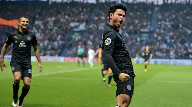 Trước khi đến Nhật Bản chơi bóng, Bunmathan đã làm mưa làm gió ở Thai League 1