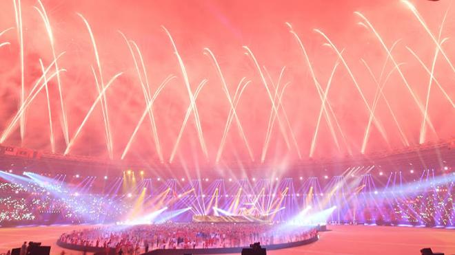 Sân Bung Karno được bầu chọn là sân đẹp nhất ASEAN. Ảnh: AFC