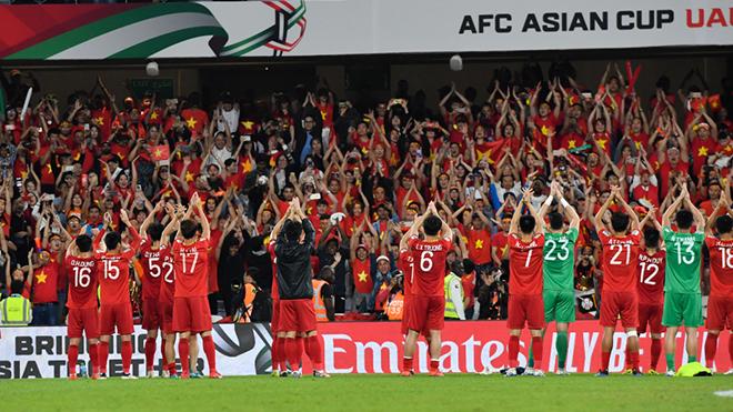 Hình ảnh ấn tượng của đội tuyển Việt Nam sau trận thắng Yemen ở vòng bảng cũng lọt Top 8 khoảnh khắc ấn tượng ở UAE 2019