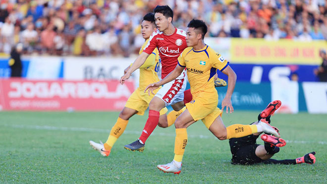 bóng đá Việt Nam, tin tức bóng đá, Công Phượng, TPHCM, V League, lịch thi đấu vòng 7 V League, Hà Đức Chinh, SHB Đà Nẵng, trực tiếp bóng đá