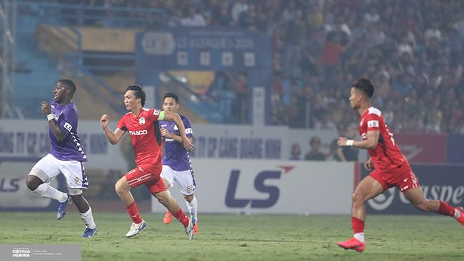 HAGL có nguy cơ bật ra khỏi TOP 8 nếu thua TPHCM chiều 1-10 tới. Ảnh: Hoàng Linh
