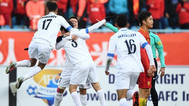 U23 Uzbekistan vừa được AFC ca ngợi sau chiến tích cách đây 2 năm. Ảnh: AFC