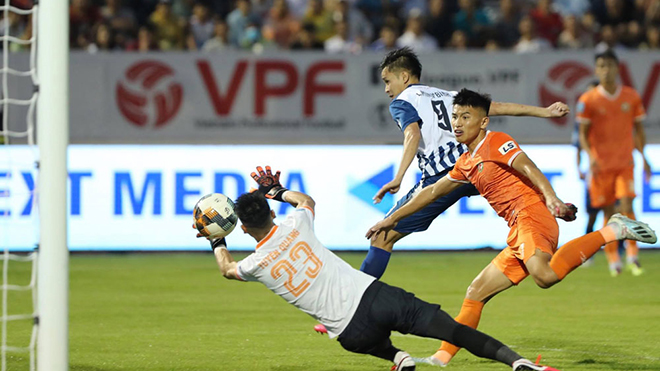 bóng đá Việt Nam, trực tiếp bóng đá V League 2020, BXH V League, kết quả bóng đá Việt Nam hôm nay, HAGL, Minh Bình, Công Phượng, Đà Nẵng vs Hà Nội