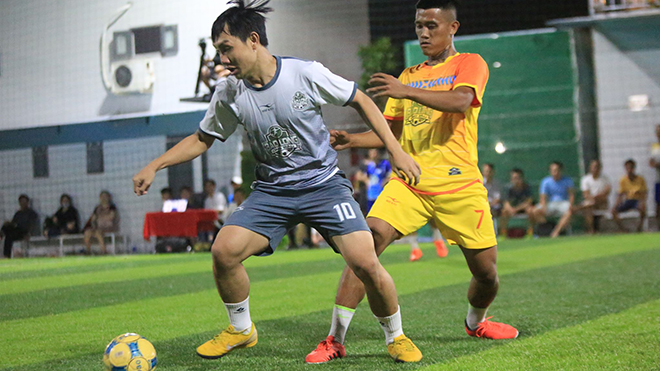 Giải đấu thu hút 16 đội bóng mạnh trên địa bàn TPHCM tham dự nên chất lượng rất cao