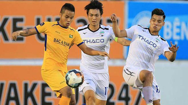 HAGL đang đối diện với nhiều hoài nghi trước vòng 13 V-League 2020 gặp TPHCM. Ảnh: VPF