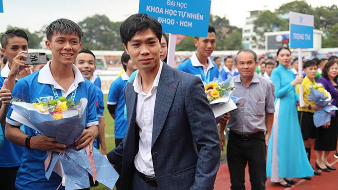 SV-League 2020, đội bóng sinh viên, Công Phượng, bầu Đức, bầu Thắng, bóng đá, bóng đá Việt Nam, bóng đá hôm nay, sân vận động Thống Nhất, chiều 24/10, bảng xếp hạng V-League 2020, TPHCM