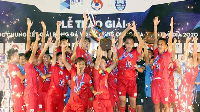 PVF vô địch U15 QG 2020. Ảnh: Anh Đồng