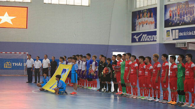 Các cầu thủ futsal TPHCM có thêm cơ hội trưởng thành từ giải đấu này. Ảnh: HFF