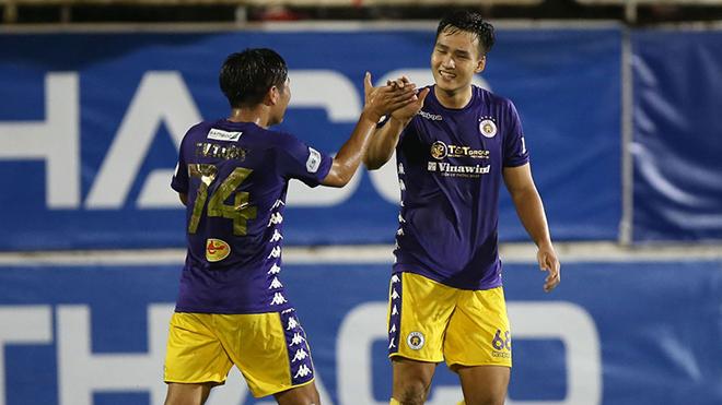 Hà Nội FC không dễ bảo vệ chức vô địch V-League 2020 nếu thua Viettel tuần tới. Ảnh: VPF