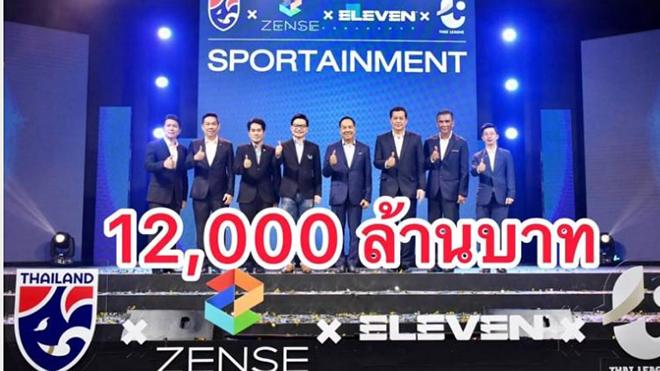Bóng đá Thái Lan công bố gói tài trợ 12 tỷ baht
