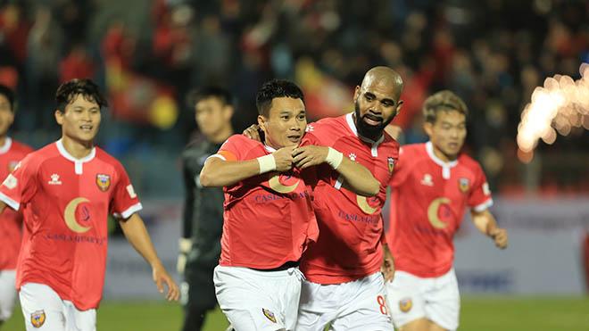 bóng đá, bóng đá Việt Nam, bóng đá hôm nay, bảng xếp hạng V-League 2021, Claudecir, Hồng Lĩnh Hà Tĩnh, Phi Sơn, vòng 2 V-League 2021