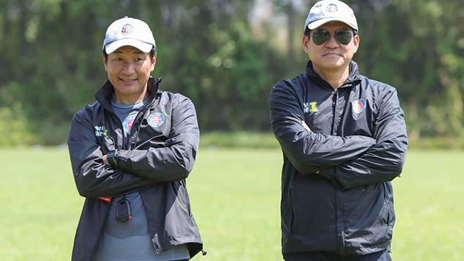 HLV Shimoda sẽ thay thế HLV Vũ Tiến Thành ở Sài Gòn FC thời gian tới. Ảnh: SGFC