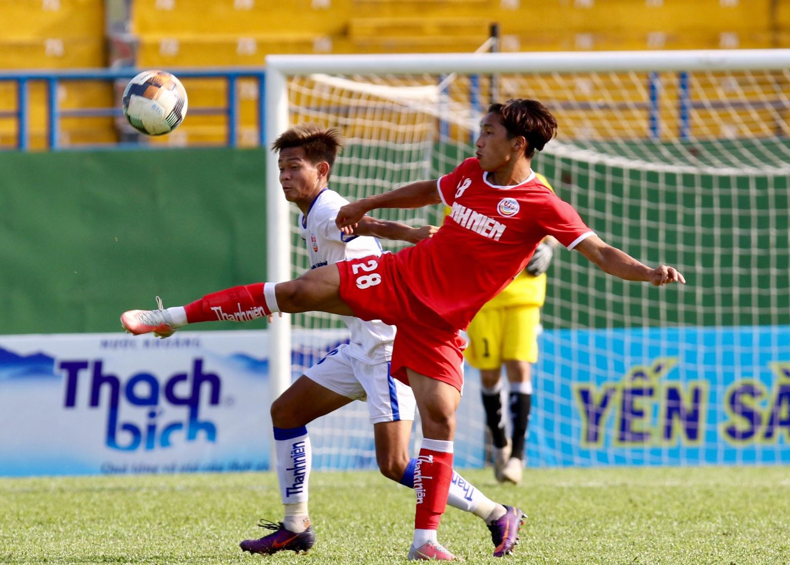 PVF dễ dàng vào chung kết U19 QG 2021 sau chiến thắng 3-0 trước An Giang chiều 13-4. Ảnh: Khả Hòa