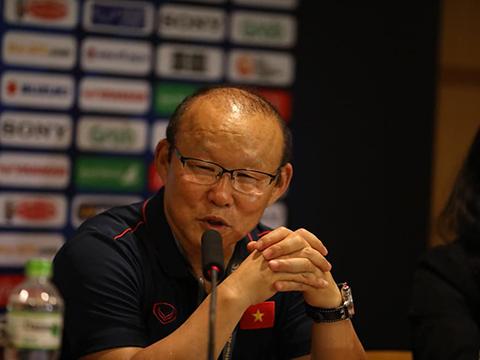 HLV Park Hang Seo đã tính toán rất kĩ cho kế hoạch săn Vàng SEA Games 30. Ảnh: Hoàng Linh