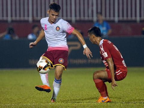 """Sài Gòn và TP.HCM là 2 CLB được """"lì xì"""" Tết vào loại lớn nhất V-League năm nay. Ảnh: Quang Liêm"""