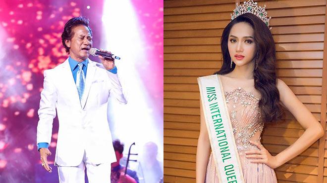 Hoa hậu chuyển giới Hương Giang được mời hát trong liveshow Chế Linh