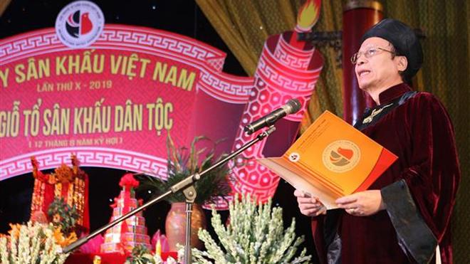 Kỷ niệm Ngày Sân khấu Việt Nam lần thứ 10 và tôn vinh các nghệ sỹ lão thành