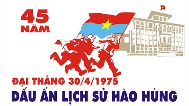 Nhiều tranh cổ động xuất sắc về 45 năm Ngày Giải phóng miền Nam, thống nhất đất nước