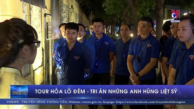 Tour Hỏa Lò đêm - tri ân những anh hùng liệt sĩ