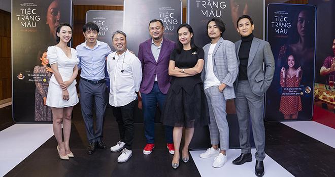 Ra mắt 'Tiệc trăng máu', Kaity Nguyễn họp trực tuyến vìCovid-19