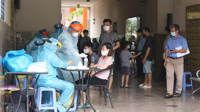 Thành phố Hồ Chí Minh xử lý các điểm liên quan đến bệnh nhân COVID-19