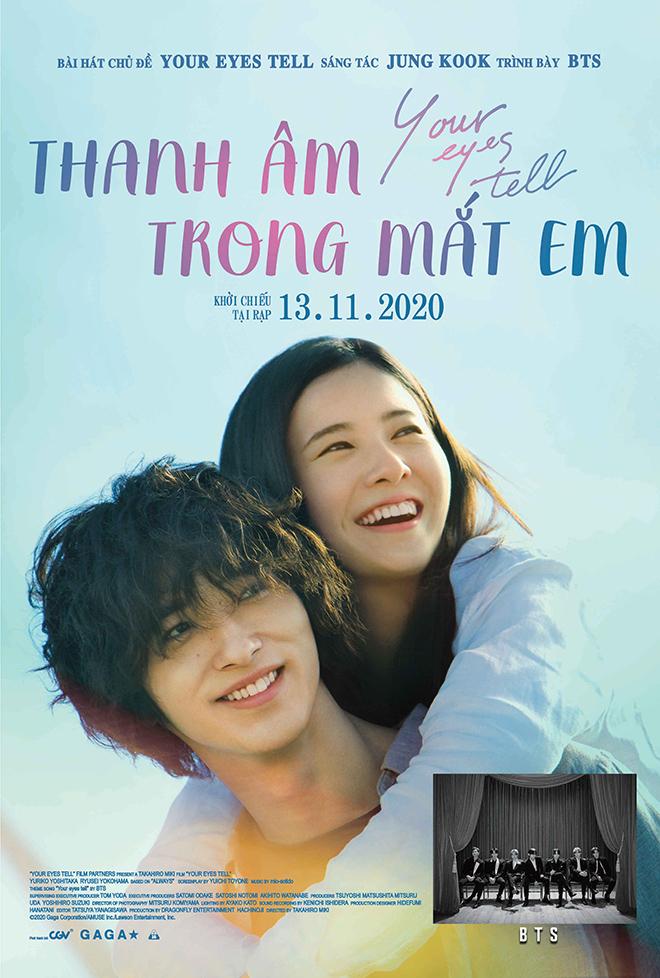 Your Eyes Tell, phim điện ảnh, BTS hát OST, BTS, phim mới, Thanh âm trong mắt em, phimmoi, phim hay, phim rạp tháng 11