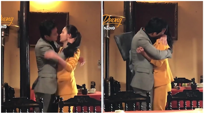 'Hướng dương ngược nắng' hé lộ sự thật cảnh Kiên 'cưỡng hôn' Minh