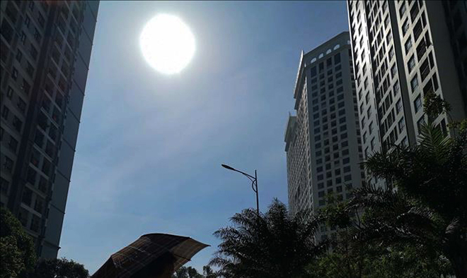 Bức xạ tia cực tím tại các tỉnh, thành phố khu vực phía Nam tăng mạnh