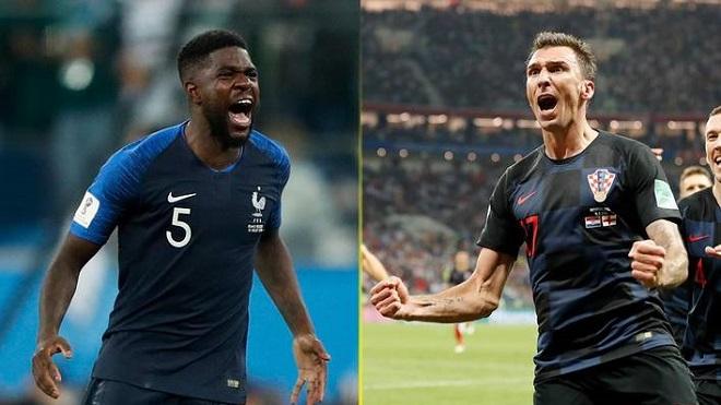 Soi kèo và nhận định chung kết World Cup 2018: Pháp vs Croatia (22h00 ngày 15/7)