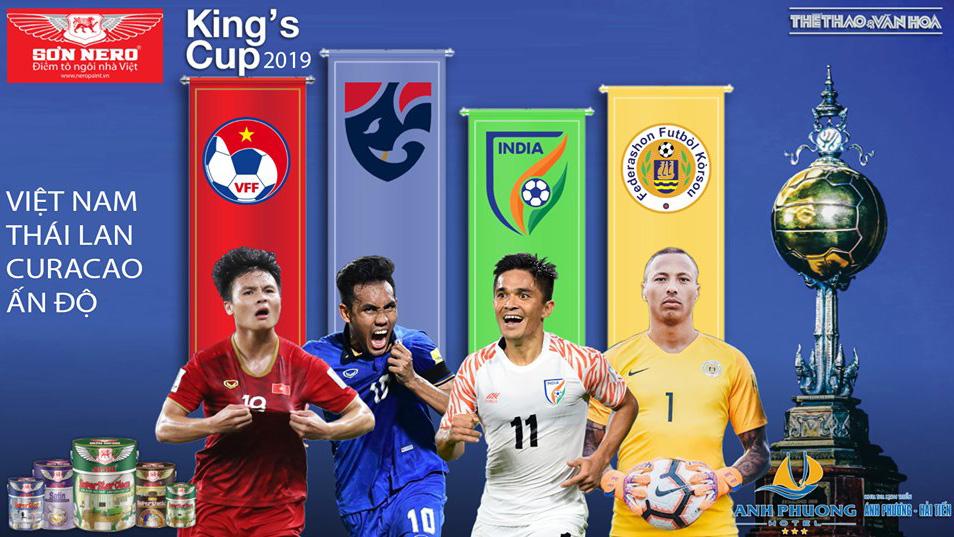 Lịch thi đấu U23 Việt Nam vs Myanmar. Lịch King Cup 2019. Trực tiếp bóng đá. VTV6. VTC1. VTV5. VTC3