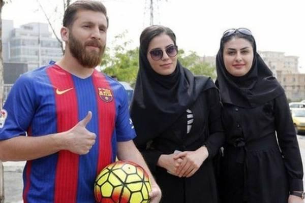 messi, bản sao của messi, iran, messi iran, argentina, barcelona, copa america 2019