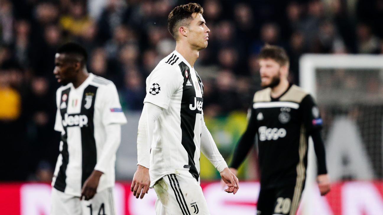 juventus, ronaldo, cristiano ronaldo, champions league, Cúp C1, Ajax, tứ kết champions league
