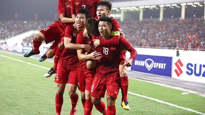 BXH FIFA, bảng xếp hạng FIFA, tuyển Việt Nam, đội tuyển việt nam, đtvn, Việt Nam, FIFA, bxh fifa tháng 4/2019