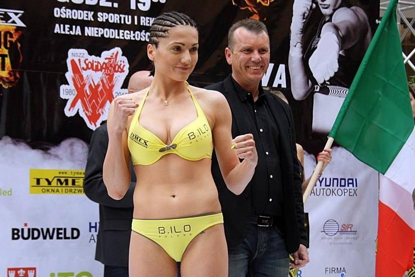 Ewa Brodnicka, boxing, ba lan, đấm bốc, người đẹp, tạp chí người lớn, nữ võ sĩ