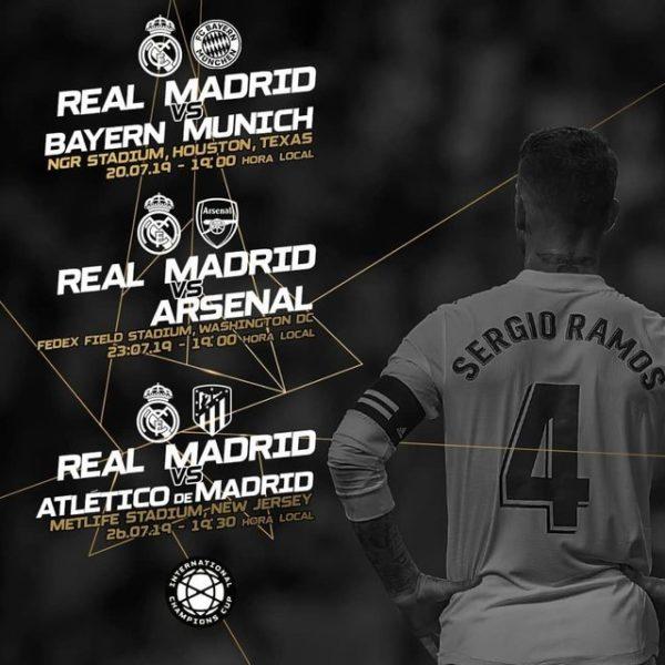 Lịch thi đấu của Real Madrid ở ICC Cup 2019, ICC Cup 2019, lịch thi đấuInternational Champions Cup 2019, xem Real Madrid thi đấu ở ICC Cup 2019, trực tiếp Real MAdrid ở ICC Cup 2019