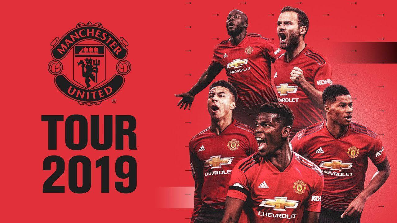 Lịch thi đấu giao hữu mùa Hè 2019 của MU. Lịch thi đấu của MU