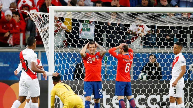 Kết quả Chile đấu với Peru, kết quả Chile vs Peru, video clip Chile 0-3 Peru, lịch thi đấu bóng đá hôm nay, kết quả bóng đá, ket qua bong da, Chile vs Peru, Copa America