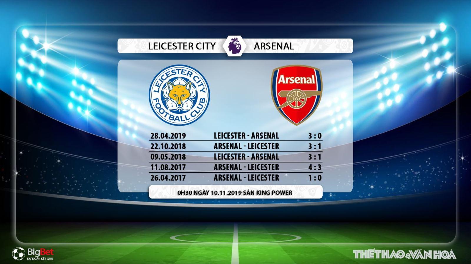 soi kèo Leicester vs Arsenal, truc tiep bong da hom nay, Leicester đấu với Arsenal, xem bóng đá trực tiếp, Ngoại hạng Anh, Premier League, K+, K+PM, K+PC, K+1, K+NS, xem bong da truc tuyen, Arsenal