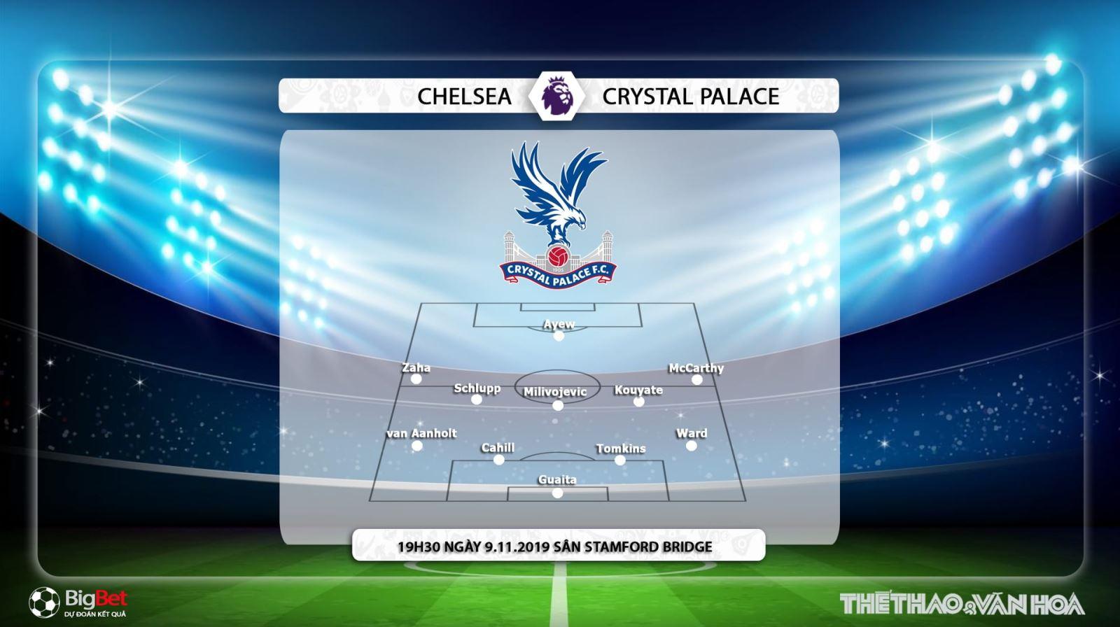 Kèo Chelsea vs Crystal Palace, truc tiep bong da hom nay, Chelsea đấu với Crystal Palace, bóng đá trực tiếp, K+, K+PM, K+PC, K+1, xem bóng đá trực tuyến, Ngoại hạng Anh