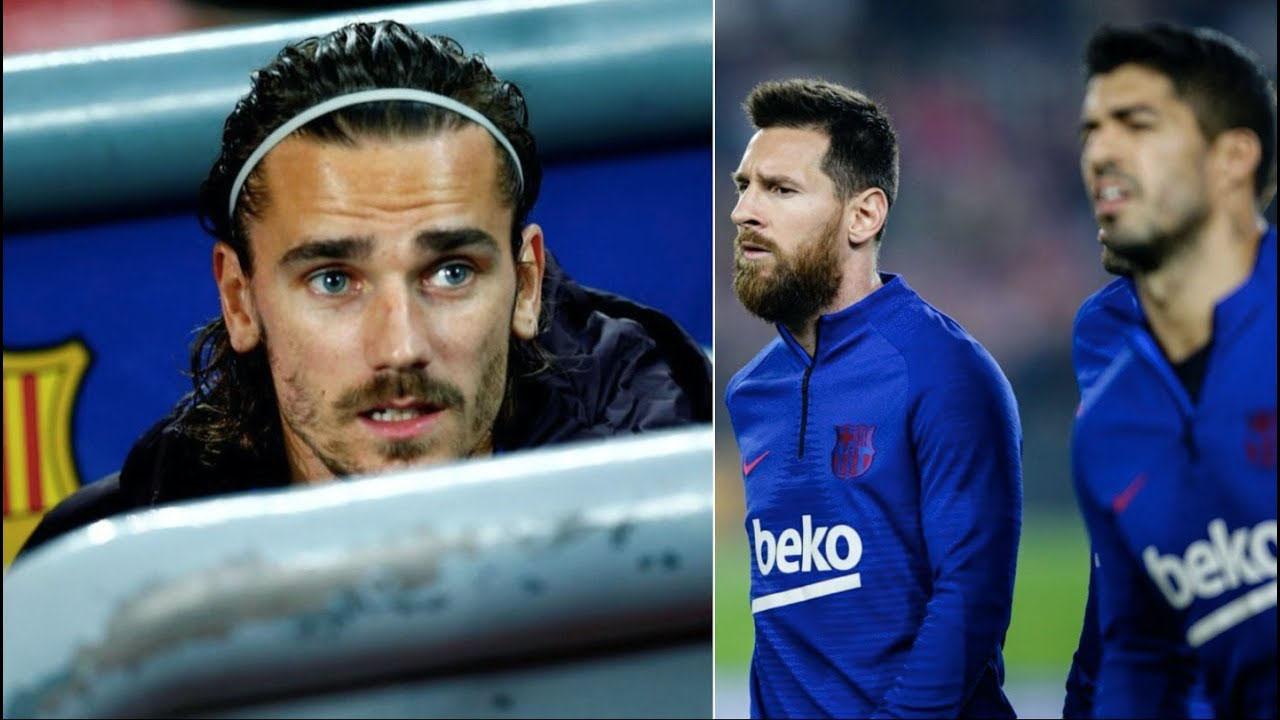 Antoine Griezmann, Luis Suarez, Barcelona, Lionel Messi, bóng đá, bong da, La Liga, kết quả La Liga, trực tiếp Barcelona