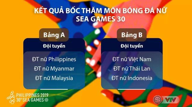 lịch thi đấu bóng đá nữ SEA Games 30, lịch thi đấu SEA Games 2019 môn bóng đá nữ, trực tiếp bóng đá nữ, VTV5, VTV6, nữ Việt Nam vs Thái Lan, truc tiep bong da hom nay