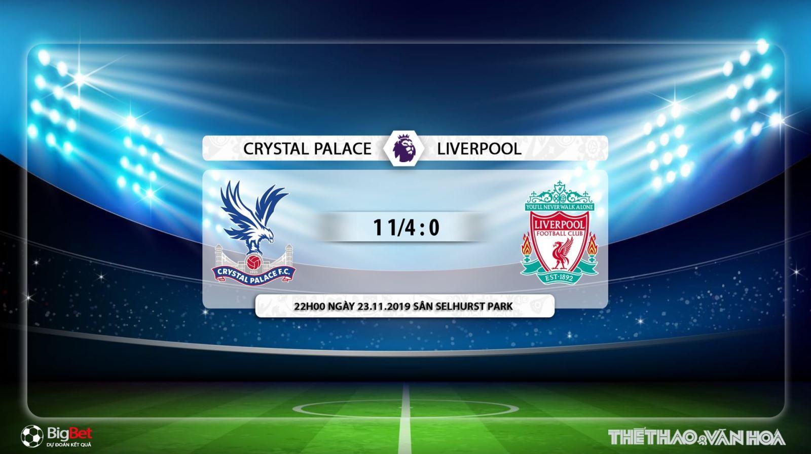 Crystal Palace vs Liverpool, liverpool, crystal palace, trực tiếp bóng đá, nhận định Crystal Palace vs Liverpool, K+PM, K+PC, K+
