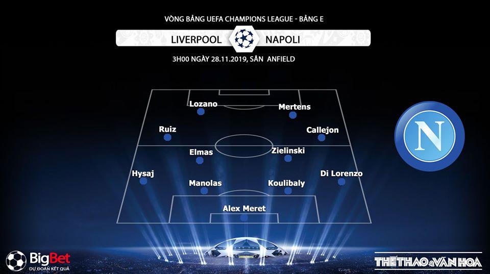 Chú thích Liverpool vs Napoli, Liverpool, Napoli, trực tiếp Liverpool vs Napoli, soi kèo Liverpool vs Napoli, K+, K+PM, K+PC, trực tiếp bóng đá, Cúp C1