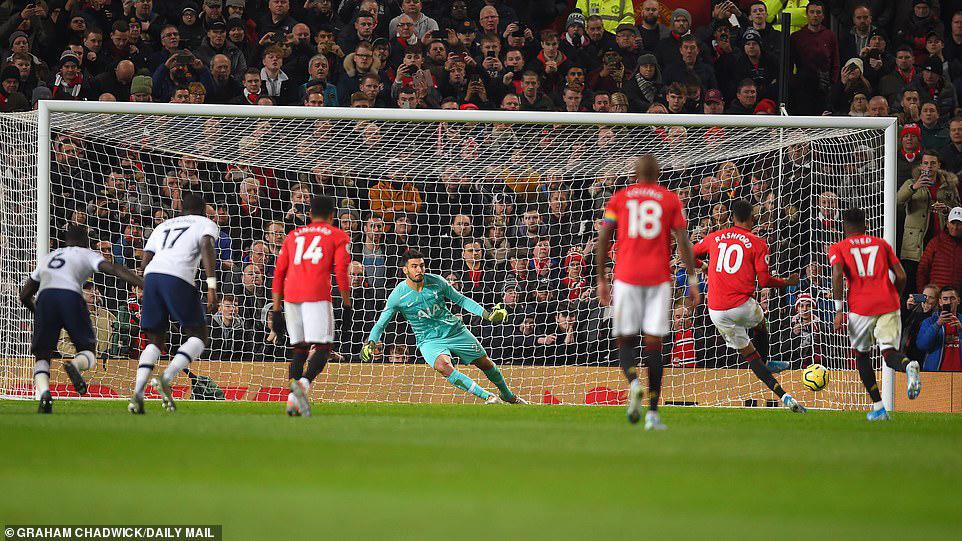 mu, bóng đá, manchester united, jose mourinho, marcus rashford, cú đúp, ngoại hạng anh, tottenham, mu 2-1 tottenham, mu vs tottenham