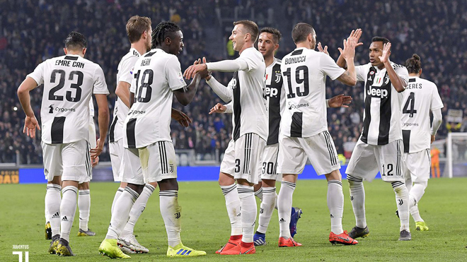 VIDEO bàn thắng Juventus 4-1 Udinese: Thắng đậm bằng đội hình hai