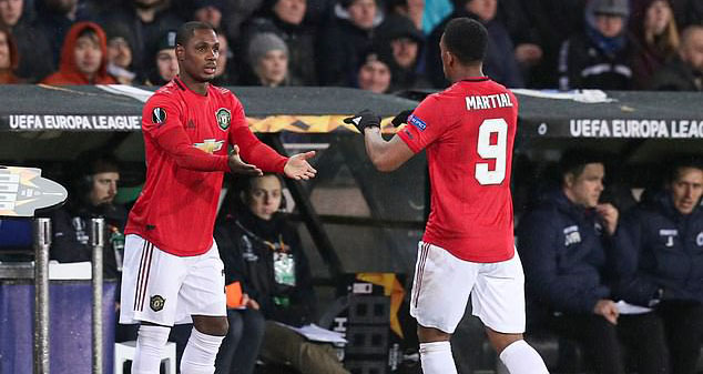 MU, manchester united, bóng đá, lịch thi đấu, trực tiếp bóng đá, Odion Ighalo, Martial, anthony martial, Watford